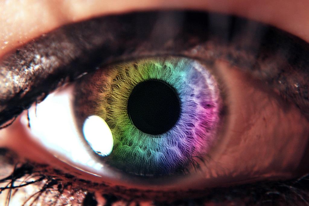 cambio colore occhi