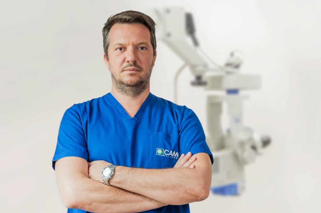 Dott. Christophe Buratto - CAMO Centro Ambrosiano Oftalmico