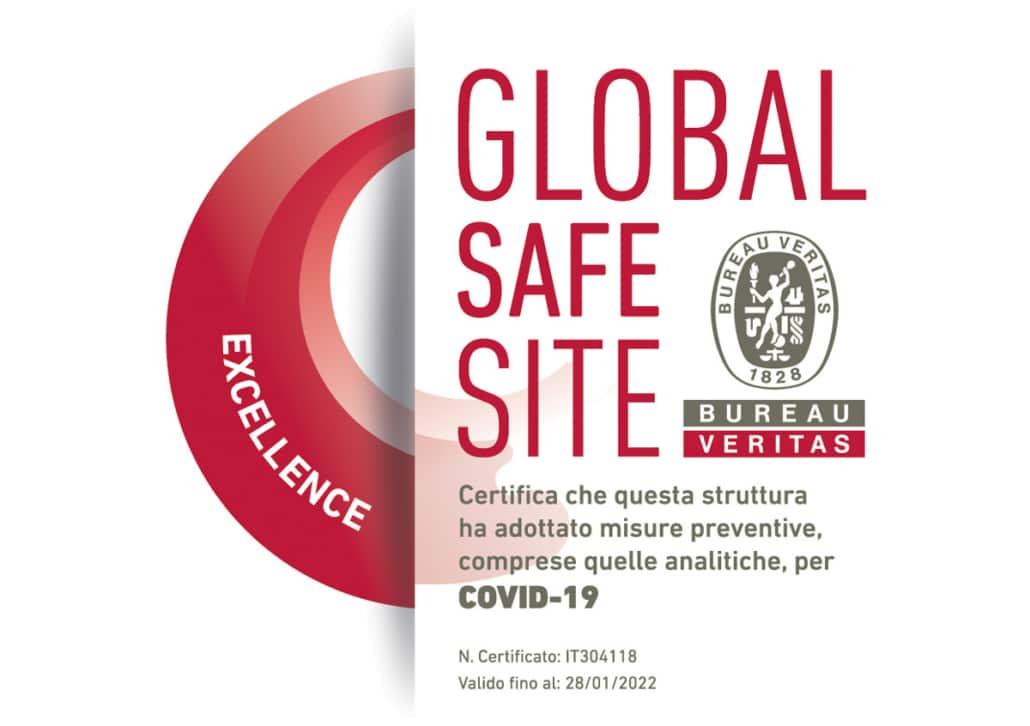 GLOBAL SAFE SITE EXCELLENCE - COVID-19 Bureau Veritas - CAMO Centro Ambrosiano Oftalmico