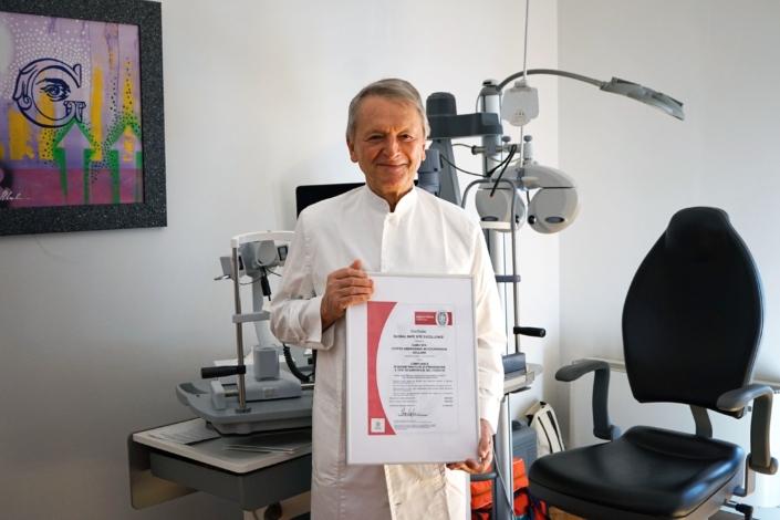 operazione di cataratta, dott. Lucio Buratto, indagine demoscopica - CAMO - Centro Ambrosiano Oftalmico